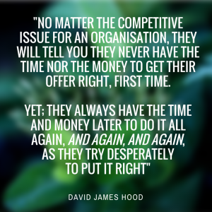 NO MATTER THE COMPETITIVE ISSUE....