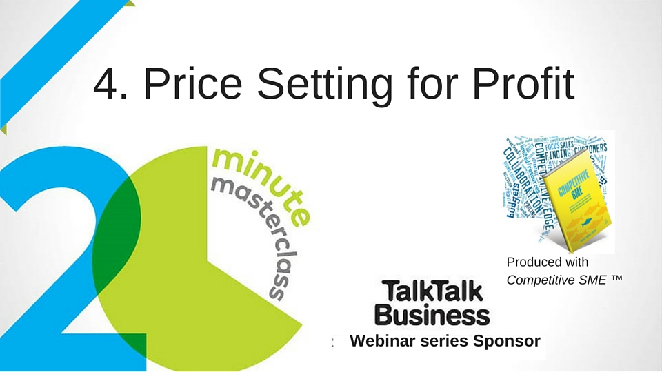 20 Minute Masterclass: Pricing for Profit