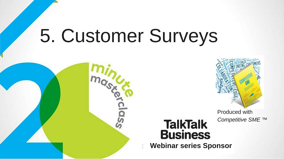 20 Minute Masterclass: Customer Surveying